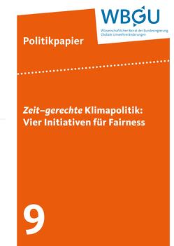 Zeit–gerechte Klimapolitik: Vier Initiativen für Fairness