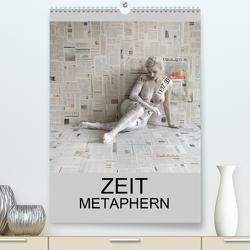 ZEIT METAPHERN (Premium, hochwertiger DIN A2 Wandkalender 2021, Kunstdruck in Hochglanz) von fru.ch
