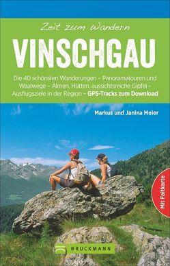 Zeit zum Wandern Vinschgau von Meier,  Markus und Janina