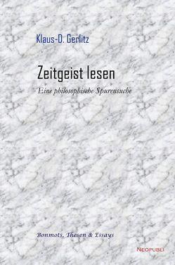 Zeitgeist lesen von Gerlitz,  Klaus-D.