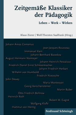 Zeitgemäße Klassiker der Pädagogik von Saalfrank,  Wolf-Thorsten, Zierer,  Klaus