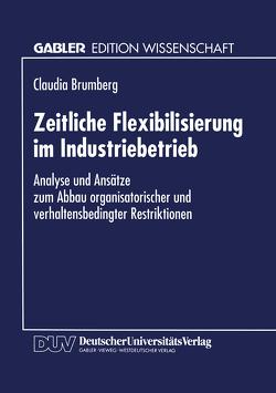 Zeitliche Flexibilisierung im Industriebetrieb von Brumberg,  Claudia