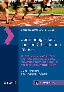 Zeitmanagement für den Öffentlichen Dienst von Brendt,  Dipl.-Psych. Dieter, Sollmann,  Dr. Christoph