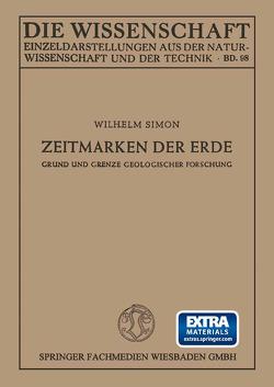 Zeitmarken der Erde von Simon,  Wilhelm