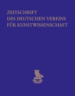 Zeitschrift des Deutschen Vereins für Kunstwissenschaft / Beiträge zur frühottonischen Kunst von Deutscher Verein für Kunstwissenschaft