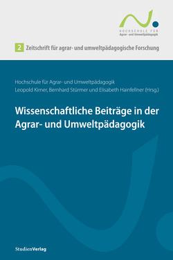Zeitschrift für agrar- und umweltpädagogische Forschung 2 von Hainfellner,  Ulrike, Kirner,  Leopold, Stürmer,  Bernhard