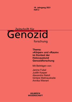 Zeitschrift für Genozidforschung von Fubel,  Janine, Klei,  Alexandra, Wienert,  Annika