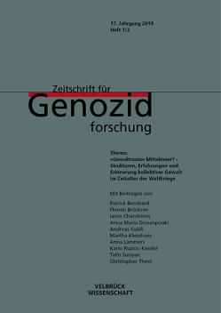 Zeitschrift für Genozidforschung: Gewaltraum Mittelmeer? von Brehl,  Medardus, Platt,  Kristin