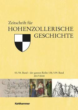 Zeitschrift für Hohenzollerische Geschichte von Trugenberger,  Volker, Zekorn,  Andreas