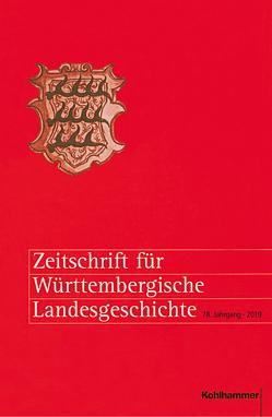 Zeitschrift für Württembergische Landesgeschichte von Rückert,  Peter