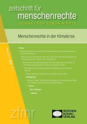 Menschenrechte in der Klimakrise von Debus,  Tessa, Kreide,  Regina, Krennerich,  Michael, Malowitz,  Karsten, Pollmann,  Arnd, Zwingel,  Susanne