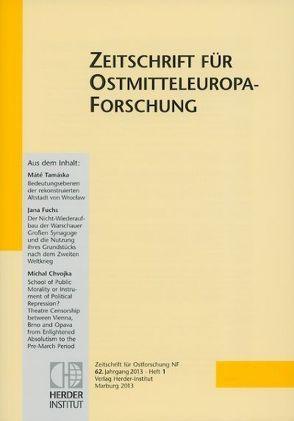 Zeitschrift für Ostforschung von Kracht,  Rose von