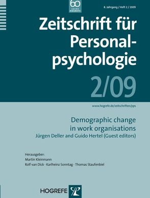 Zeitschrift für Personalpsychologie von Deller,  Jürgen, Guido,  Hertel