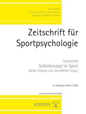 Zeitschrift für Sportpsychologie / Zeitschrift für Sportpsychologie von Möller,  Jens, Tietjens,  Maike