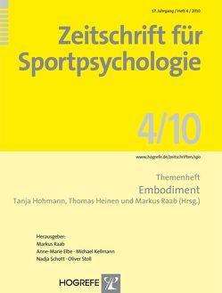 Zeitschrift für Sportpsychologie / Zeitschrift für Sportpsychologie von Heinen,  Thomas, Hohmann,  Tanja, Raab,  Markus