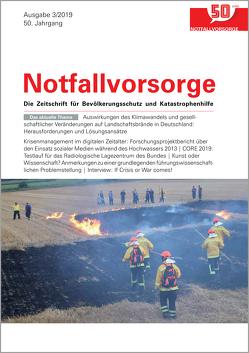 Zeitschrift Notfallvorsorge Heft 03/2019 von Walhalla Fachverlag