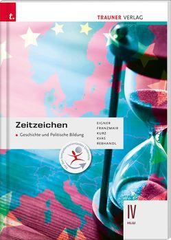 Zeitzeichen – Geschichte und Politische Bildung IV HLW von Eigner,  Michael, Franzmair,  Heinz, Kurz,  Michael, Kvas,  Armin, Rebhandl,  Rudolf