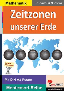 Zeitzonen unserer Erde von Owen,  Brenda, Smith,  Peter