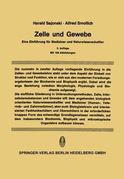 Zelle und Gewebe von Lindner,  D., Sajonski,  Harald, Smollich,  Alfred