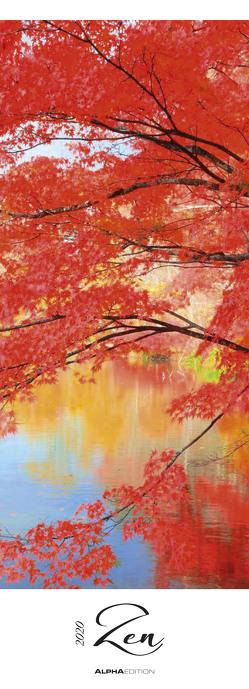 Zen 2020 – Streifenkalender XXL (25 x 69) – Natur – Wandkalender – Harmonie – Gleichgewicht – Bildkalender – Wandkalender von ALPHA EDITION