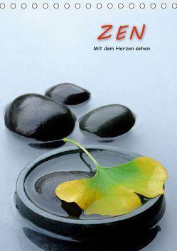 ZEN – Mit dem Herzen sehen (Tischkalender 2019 DIN A5 hoch) von Pfeiffer,  Jürgen