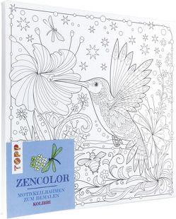 Zencolor Motivkeilrahmen Kolibri von frechverlag, Schwab,  Ursula