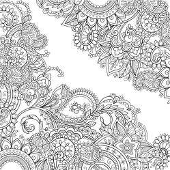 Zencolor Motivkeilrahmen Ornament von frechverlag, Pitz,  Natascha