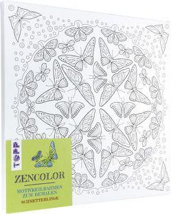 Zencolor Motivkeilrahmen Schmetterlinge von frechverlag, Schwab,  Ursula