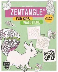 Zentangle für Kids Waldtiere von Winkler,  Beate