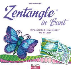 Zentangle® in Bunt von Browning,  Marie