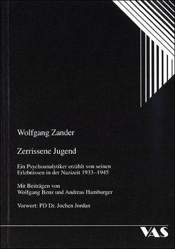 Zerrissene Jugend von Benz,  Wolfgang, Deppe,  Hans U, Hamburger,  Andreas, Jordan,  Jochen, Zander,  Wolfgang