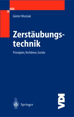 Zerstäubungstechnik von Wozniak,  Günter