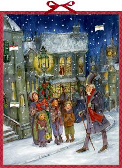 Zettelkalender – Die Weihnachtsgeschichte von Charles Dickens von Charles,  Dickens