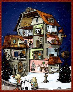 Zettelkalender – Se.Cr.Et-Kids – Finde den Weihnachtsschatz von Bodenstein,  Artur, Haferkamp,  Kai