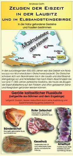 Zeugen der Eiszeit in der Lausitz und im Elbsandsteingebirge von Gerth,  Andreas