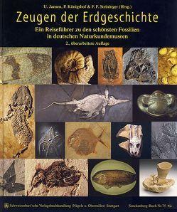 Zeugen der Erdgeschichte von Janßen,  Ulrich, Königshof,  Peter, Steininger,  Fritz F