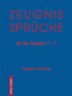 Zeugnissprüche von Horneber,  Traugott