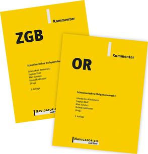 ZGB & OR Kommentar Kombipaket von Amstutz,  Marc, Fankhauser,  Roland, Kren Kostkiewicz,  Jolanta, Wolf,  Stephan
