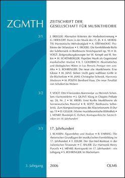 ZGMTH  – Zeitschrift der Gesellschaft für Musiktheorie von Holtmeier,  Ludwig, Rohringer,  Stefan, Schwab-Felisch,  Oliver