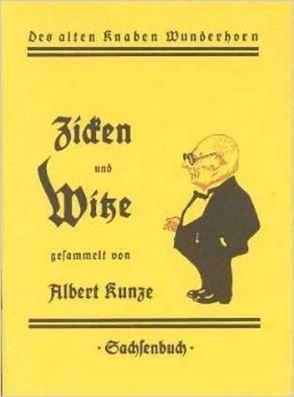 Zicken und Witze von Kunze,  Albert