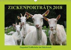 Zickenporträts 2018 (Wandkalender 2018 DIN A3 quer) von und Dietmar Püpke,  Antje