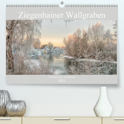 Ziegenhainer Wallgraben (Premium, hochwertiger DIN A2 Wandkalender 2021, Kunstdruck in Hochglanz) von Lidiya