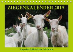 Ziegenkalender 2019 (Tischkalender 2019 DIN A5 quer) von und Dietmar Püpke,  Antje