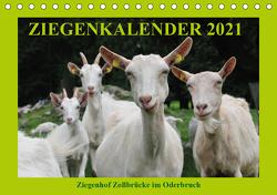 Ziegenkalender 2021 (Tischkalender 2021 DIN A5 quer) von und Dietmar Püpke,  Antje