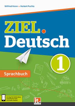 ZIEL.Deutsch 1 – Sprachbuch + E-Book von Krenn,  Wilfried, Puchta,  Herbert