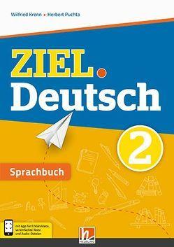 ZIEL.Deutsch 2 – Sprachbuch + E-Book von Krenn,  Wilfried, Puchta,  Herbert