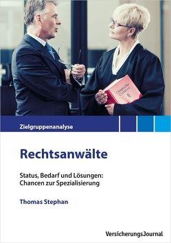 Zielgruppenanalyse Rechtsanwälte von Stephan,  Thomas