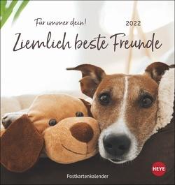 Ziemlich beste Freunde Postkartenkalender 2022 von Heye