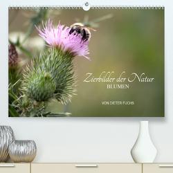 Zierbilder der Natur BLUMEN (Premium, hochwertiger DIN A2 Wandkalender 2020, Kunstdruck in Hochglanz) von Fuchs,  Dieter