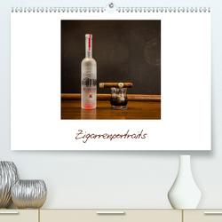 Zigarrenportraits (Premium, hochwertiger DIN A2 Wandkalender 2021, Kunstdruck in Hochglanz) von Enns Fotografie,  Viktor